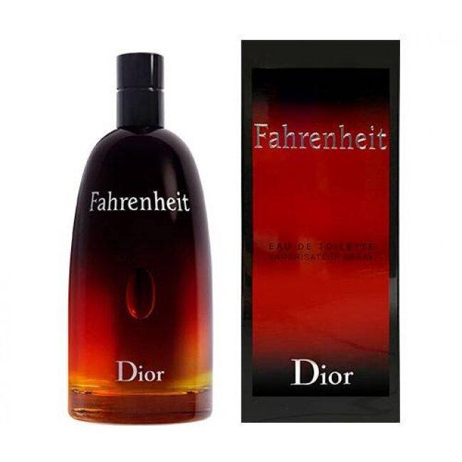 בושם לגבר Christian Dior Fahrenheit E.D.T או דה טואלט 200ml