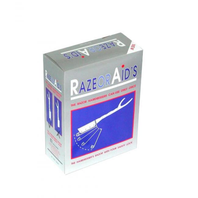 RAZOR AID'S תערים חד פעמים 100 יחידות