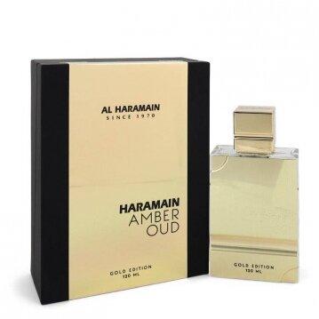 """בושם יוניסקס Amber Oud Gold Edition א.ד.פ 60 מ""""ל AL HARAMAIN"""