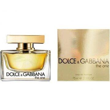 בושם לאישה Dolce Gabbana The One E.D.P או דה פרפיום 75ml