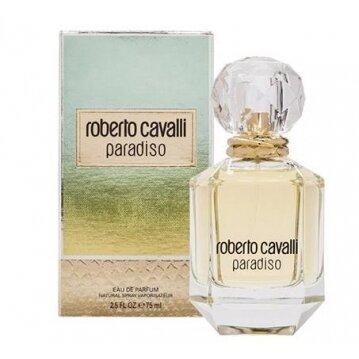 """בושם לאישה Paradiso א.ד.פ 75 מ""""ל Roberto Cavalli"""