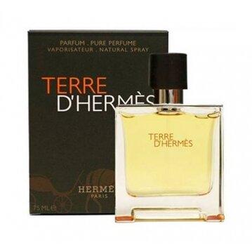 """בושם לגבר Terre D'Hermes א.ד.פ 75 מ""""ל Hermes"""