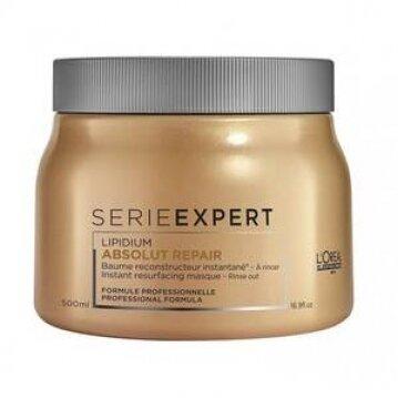 L'oréal מסכה להתחדשות שיער פגום אבסולוט ריפר גולד קינואה