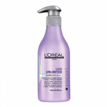 L'oréal שמפו לשיער מרדני ומקורזל ליס אנלימיטד