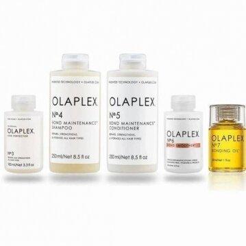 OLAPLEX מארז מקצועי לשיקום אינטנסיבי לשיער 3 + 4 + 5+ 6+ 7