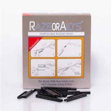 RAZOR AID'S תערים חד פעמיים 200 יחידות