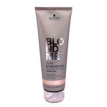 Schwarzkopf bonding shampoo שמפו בלונדמי בגוונים חמים