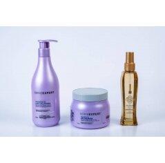L'oréal ליס אנלימיטד מארז מוצרים לשיער מרדני ומקורזל -