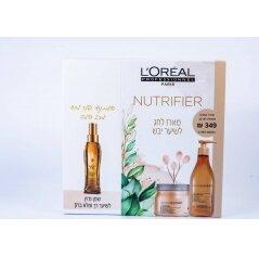 L'oréal סרי אקספרט מארז מוצרים לשיער יבש -